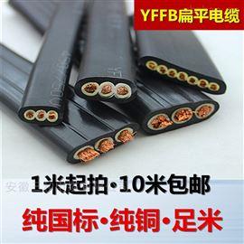 KYFFP扁电缆PVC护套一字型