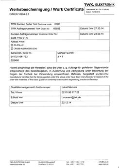 德国TWK CRE66-4096G24KE17