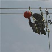 輸電線路警示球選型丨橘黃色醒目