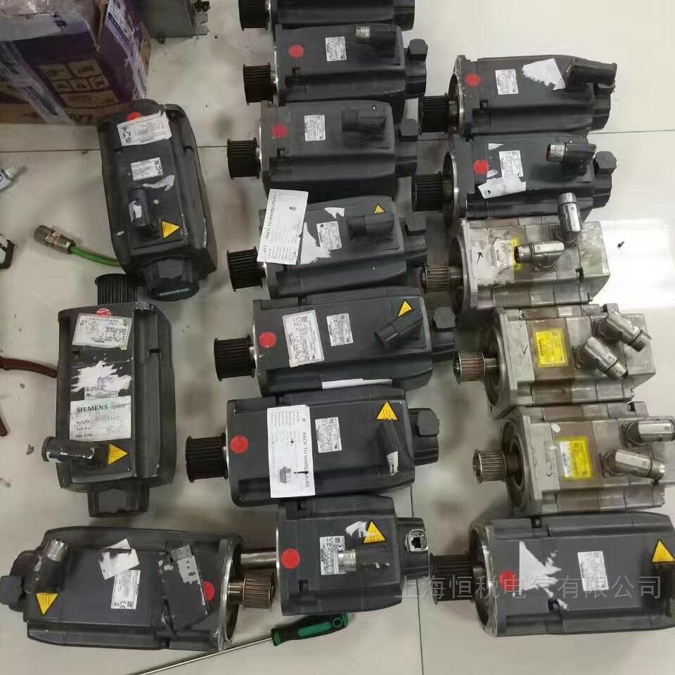 西门子伺服电机通电就报警修复率高
