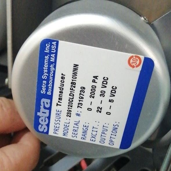 Setra西特239高精度微差壓傳感器