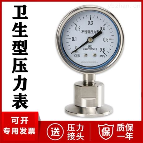 不锈钢隔膜耐震压力表厂家价格 DN25 DN50