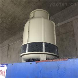 水循环散热工业圆形玻璃钢冷却水塔