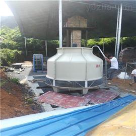 加厚100吨工业型圆形玻璃钢冷却水塔