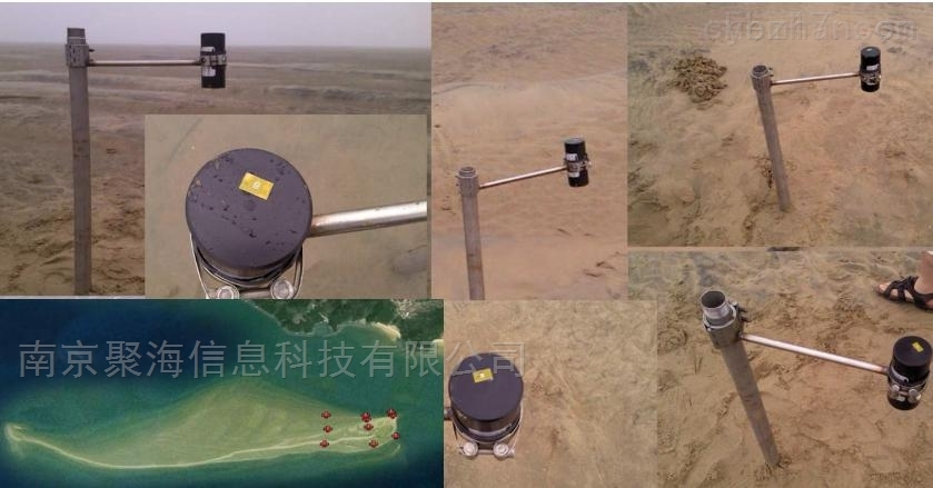 潮滩淤积自动测量仪
