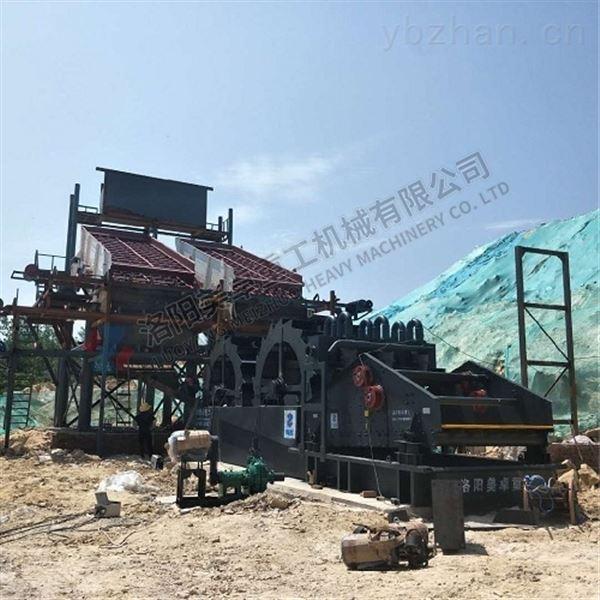 山西时产100吨石英砂洗砂一体机价格