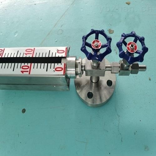 高密封双色液位计衬四氟量程800MM渣油介质