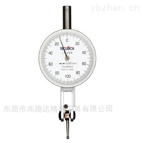 自动切换测量方向杠杆表日本TECLCOK得乐