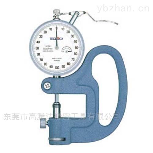日本TECLCOK得乐测厚规厚度测量仪