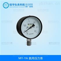 MY-YA氨用壓力表指針式