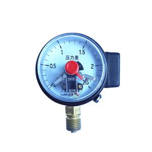 YXC-60磁助式电接点压力表
