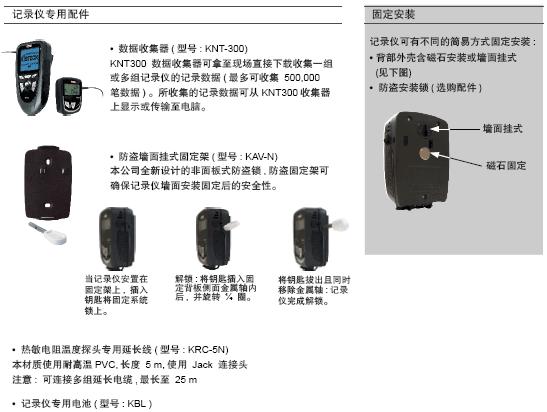 KT210温度记录仪