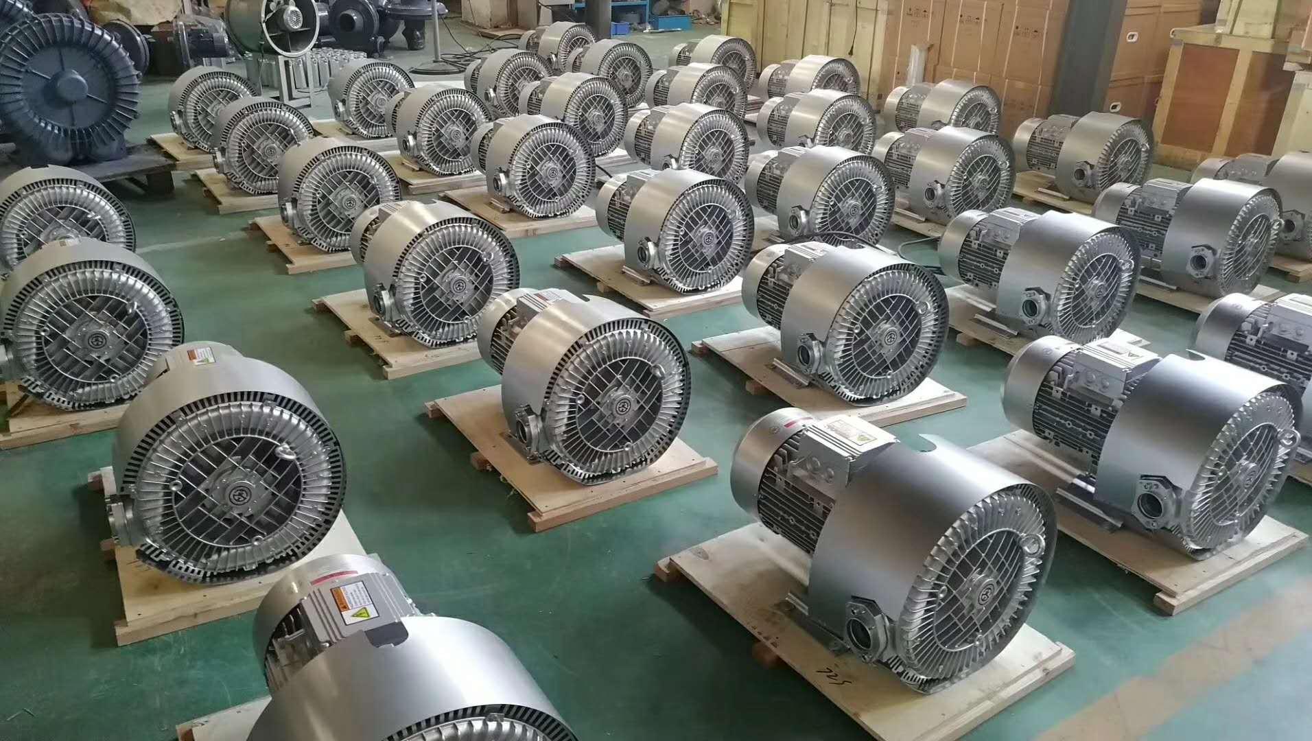 20kw50HZ漩涡风机 型号LYX-94S-2立式 60HZ 23kw高压漩涡风机示例图14