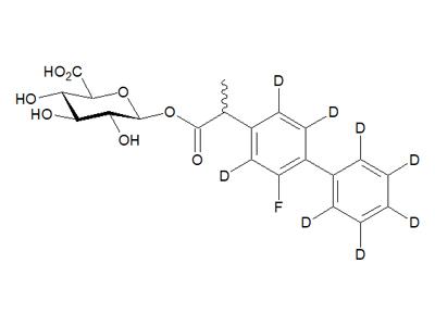 (R,S)-氟比洛芬-d8酰基-β-D-葡糖醛酸