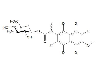 萘普生-1,3,4,5,7,8-d6酰基-β-D-葡糖醛酸
