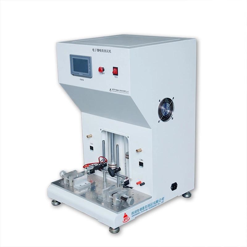 """电子烟吸阻测试机用于测试电子烟电池杆或成品电子烟""""吸燃"""