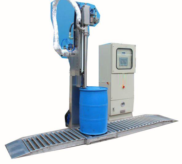 200升自动称重灌装机液面下灌装