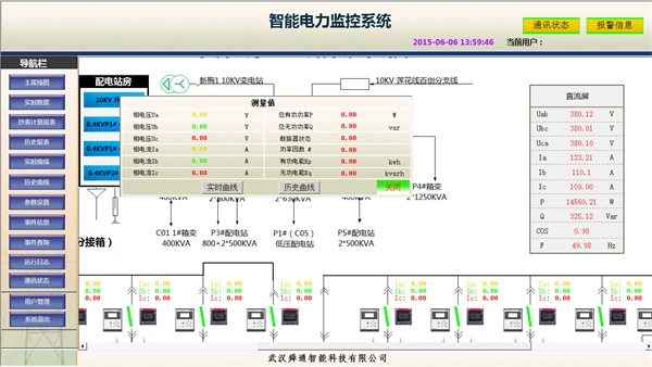 QTouch<strong>智能电力监控系统</strong>主界面2