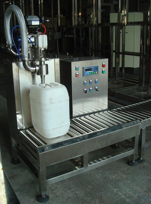 10-30升液体称重灌装机