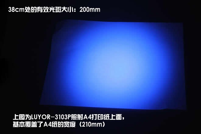 美国路阳LUYOR-3104便携式LED紫外线探伤灯