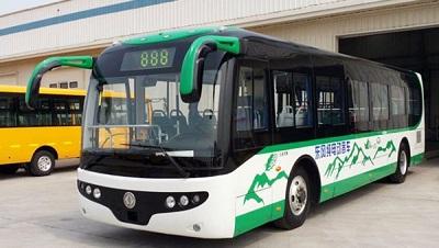 动力电池总成系统为西藏10.5米电动大巴提供绿色动力