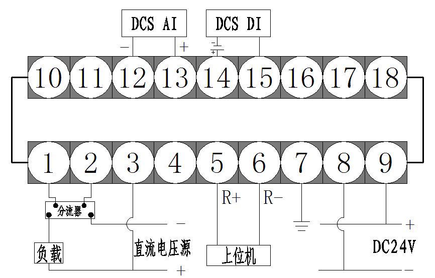 嵌入式智力功率表接线方式二