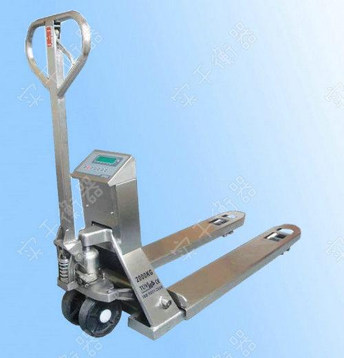 不锈钢叉车秤