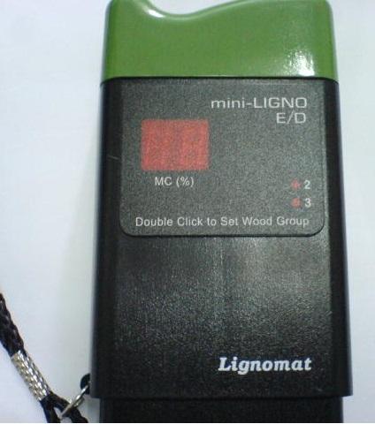 简单介绍  德国插针式ED型测水仪\测湿仪Mini-Ligno E/D 插针式,测量范围:6-45%,档位:两档,(软木和硬木),测量深度:5mm和10mm,显示方式:数字电子屏幕, 0.1%分辨率  德国插针式ED型测水仪\测湿仪Mini-Ligno E/D的详细介绍 德国插针式ED型测水仪\测湿仪Mini-Ligno E/D   品牌:利格诺迈特 德国制造,组装,原装  型号:ED 测量范围:6-45% 树种档位:2个档位(软木和硬木) 测量深度:5mm和10mm 电池:9V 显示方式:数字显示,读数分辨率0.1%.