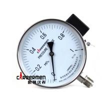 电阻远传压力表正面照片