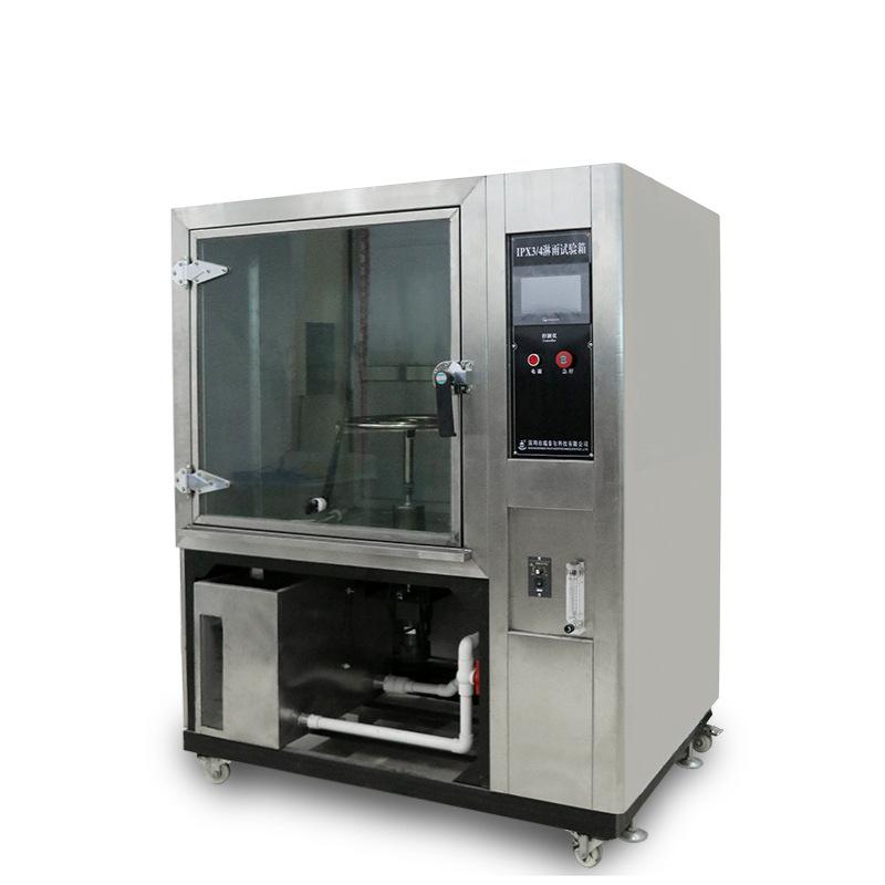淋雨试验箱严格按低压电器外壳防护等级GB/T4942.2-1993及外壳防护等级(IP代码)GB4208-2008、 GB/T10485-2007相对应的国家标准技术参数设计制造。