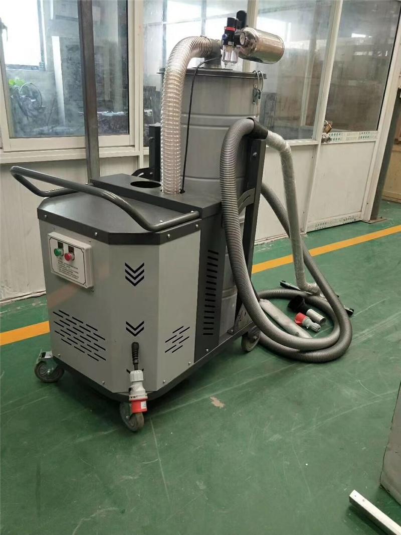 现货:小型高压吸尘器 移动式工业吸尘器 工厂车间地面粉尘吸尘器 强力高压真空吸尘器示例图4