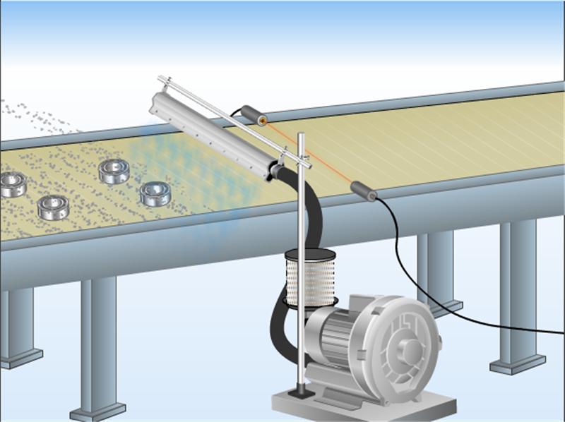 非标定制铝合金吹水风刀不锈钢板吹干风刀不锈钢除尘干燥风刀示例图3