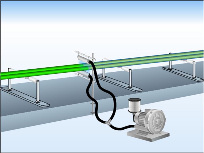 非标定制铝合金吹水风刀不锈钢板吹干风刀不锈钢除尘干燥风刀示例图5