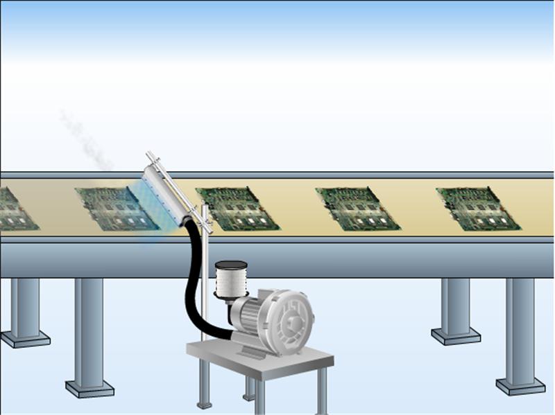 非标定制铝合金吹水风刀不锈钢板吹干风刀不锈钢除尘干燥风刀示例图7