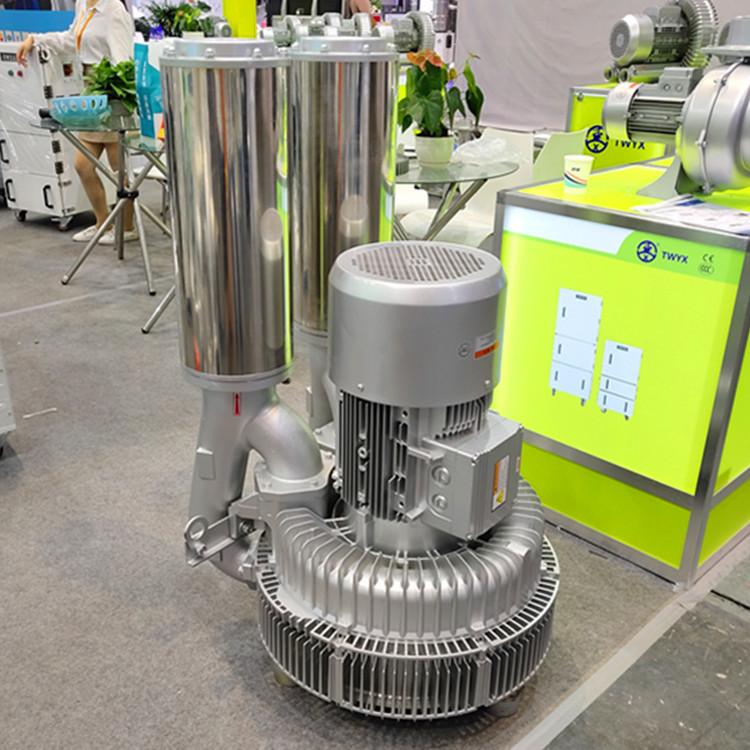厂家 立式20kw50HZ漩涡气泵  型号LYX-94S-2立式高压漩涡气泵 旋涡式气泵示例图3