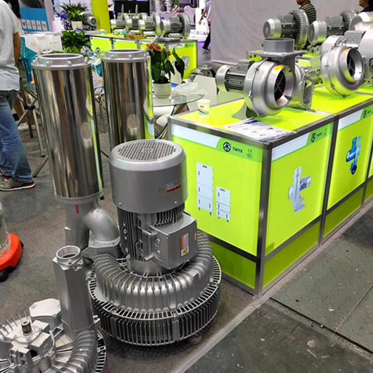 厂家 立式20kw50HZ漩涡气泵  型号LYX-94S-2立式高压漩涡气泵 旋涡式气泵示例图5